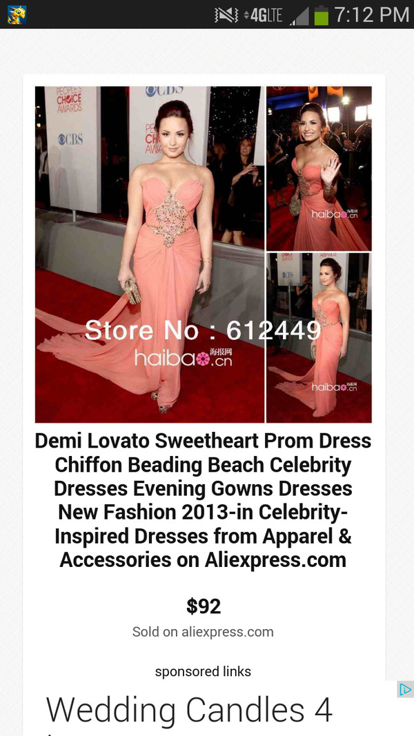 dress demi lovato