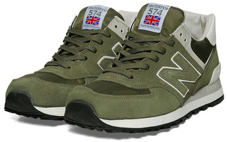 shoes made in england green olive new balance new balance 574
