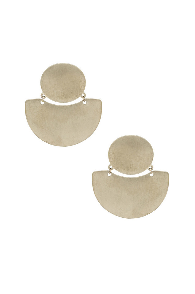 8 Other Reasons X REVOLVE Karly Stud Earrings in metallic / silver