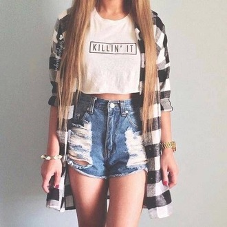 cardigan outfit tiles tiles black and white blouse classy basic