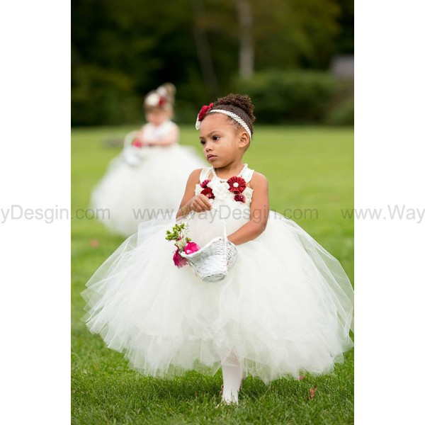 flower girl dress ivory tutu dress flower girl dress 2014 ivory flower girl dress