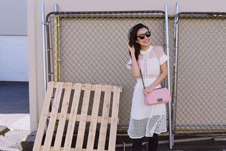 hey pretty thing blogger jacket t-shirt dress shoes bag sunglasses