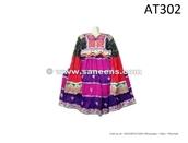 dress,afghan,hand made,vintage,ethnic,organic,beauty organizer,orange