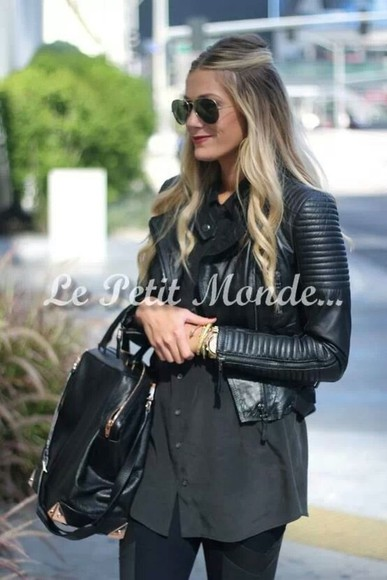 coat perfecto black perfecto biker