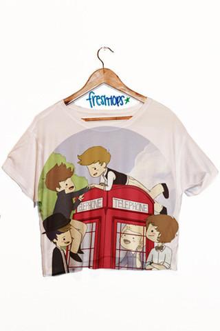 Crop Shirts - Fresh-tops.com