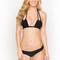 Montce swim janelli bikini top - black