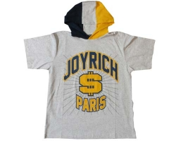 Joy Rich Paris Team Hoodie Heather Grey