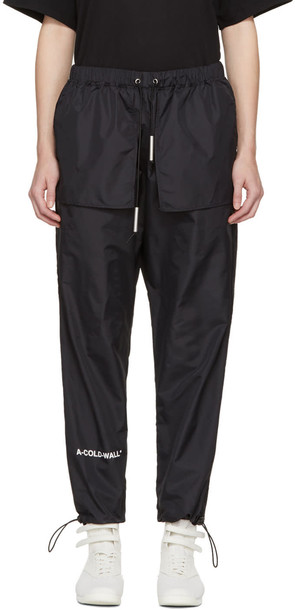 A-cold-wall* pants track pants black