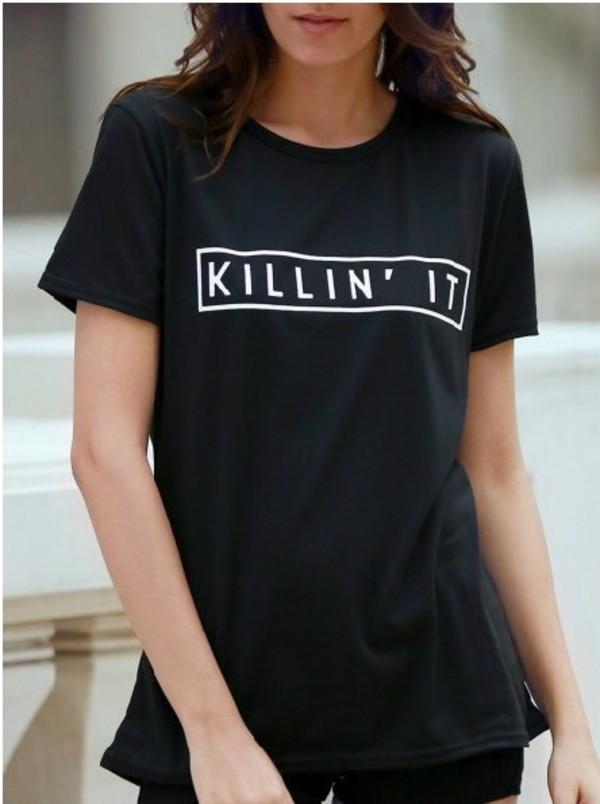 t-shirt girl girly girly wishlist killin it