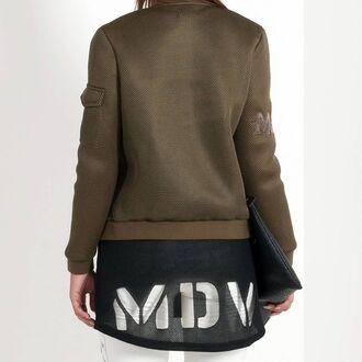 top maniere de voir tunic vest laser cut neoprene mesh