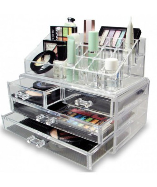 Home accessory make up cosmetics organizer beauty - Rangement palette maquillage ...