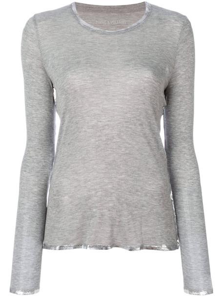 Zadig & Voltaire top women grey