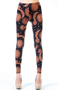 New Best Women's Sun and Moon Leggings by See You Monday | eBay