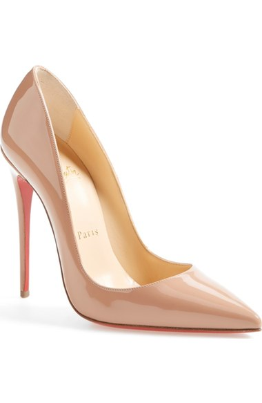 Christian Louboutin 'So Kate' Pointy Toe Pump   Nordstrom