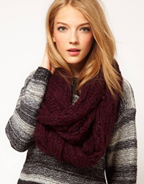 ASOS | ASOS Textured Knit Snood at ASOS