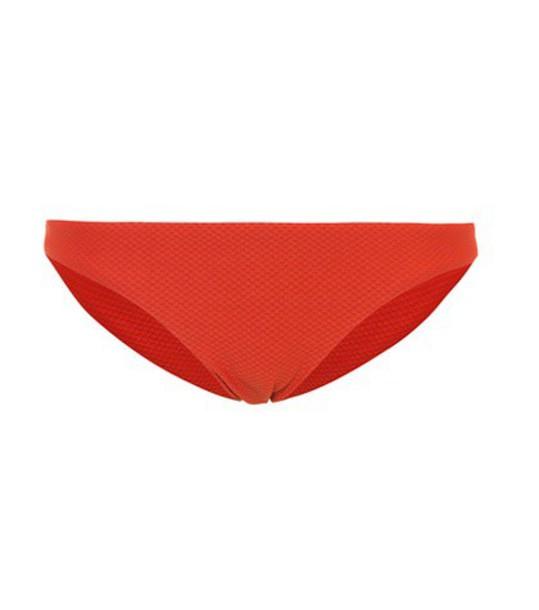 bikini bikini bottoms classic red swimwear