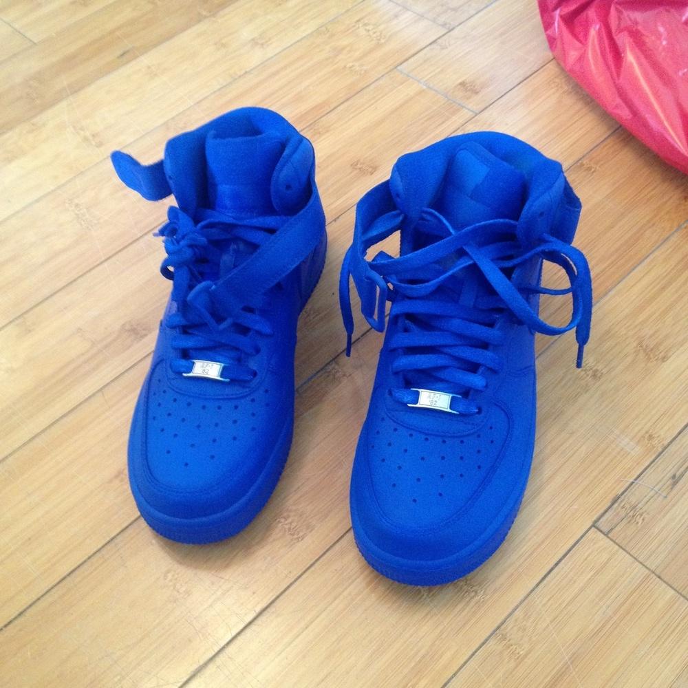 Nike Air Force Royal Blue