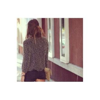 sweater grey soft white long sleeve nice