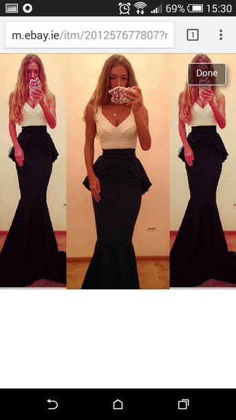 dress prom dress prom formal dress black dress white dress peplum maxi dress