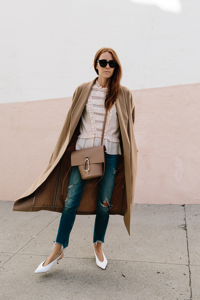 could i have that blogger coat shirt bag sunglasses jeans shoes