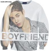 sweater,justin bieber,justin,bieber,belieber,believe,boyfriend,white,grey,checkered