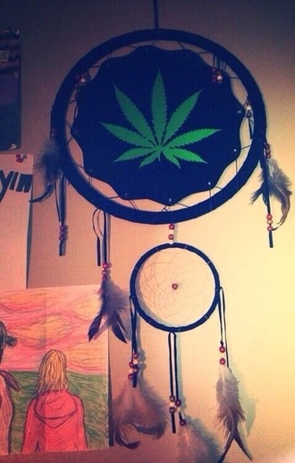 jewels weed hippie boho dream catcher indian