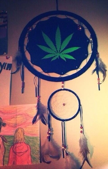 indian hippie boho jewels weed dream catcher