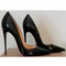Black red bottoms - 2 heel sizes | awesome world - online store