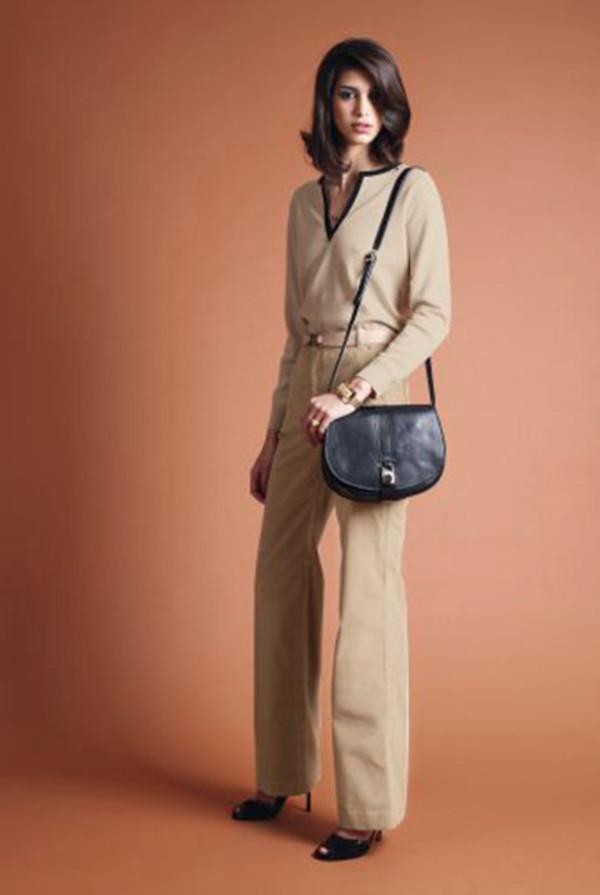 blouse apc fashion lookbook bag jewels