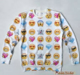 jacket emoji print jumper tumblr like