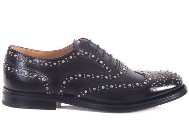 Churchs studs black shoes