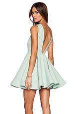 Aq/aq koko mini dress in duck egg green from revolveclothing.com