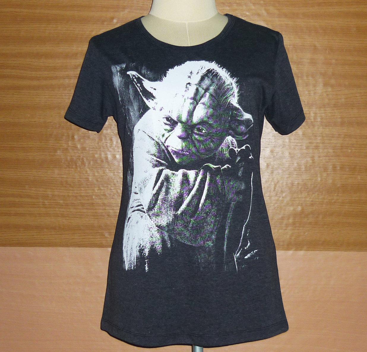 b312fe75 Movie T-Shirt Star Wars T-Shirt Yoda Jedi ,Shirt Lady, Shirt Teen Girls ...