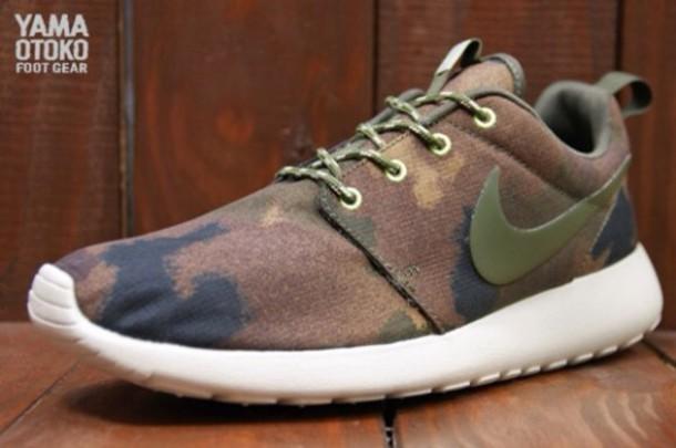 aa2063364252 shoes nike nike roshe run military style green fashion nike roshe run
