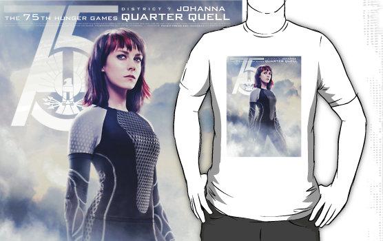 """Catching Fire Johanna Mason"" T-Shirts & Hoodies by forbiddenforest | Redbubble"