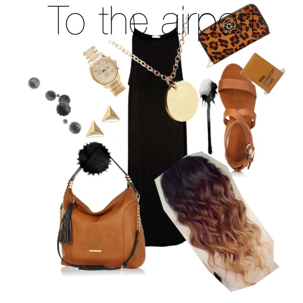 To the airport - Polyvore