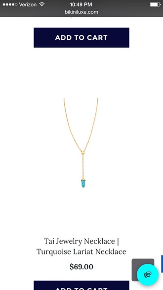 jewels turquoise turquoise necklace lariat gold chain gold necklace gold chain necklace gold turquoise necklace turquoise jewelry gold lariat tai jewelry tai