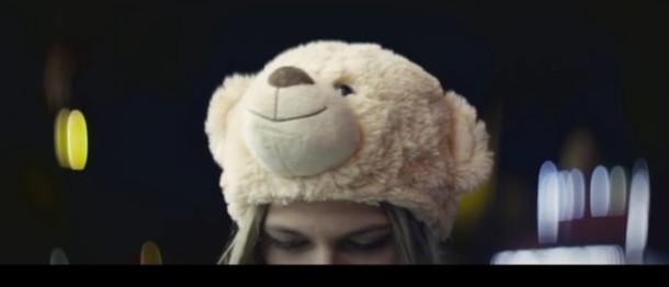 hat teddy bear beanie