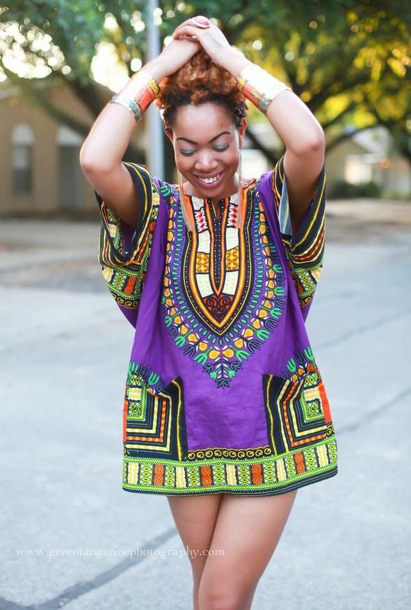 dress dashiki dashikitee dashikit-shirt purple dress dashiki dresses african  print t-shirt dress. 1915d2185