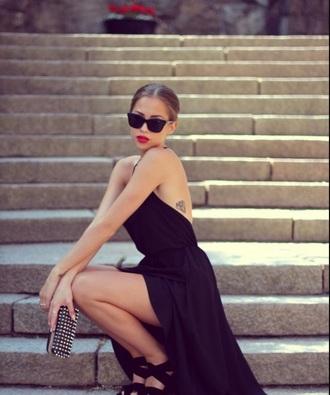 dress black dress maxi dress long dress prom dress