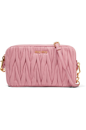 bag leather baby pink baby pink