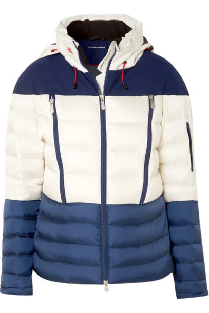 Perfect Moment jacket quilted navy