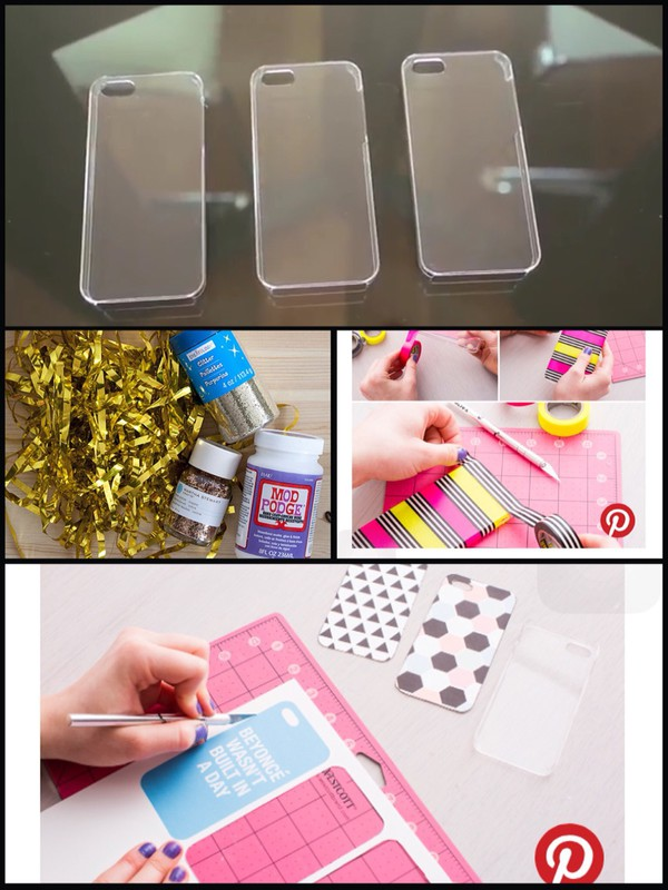 Phone cover iphone cover iphone case diy transparent for How to make a homemade phone case