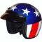 Captain america motorcycle helmets