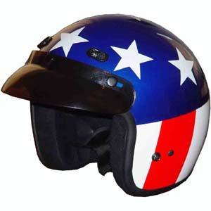 Captain america motorcycle helmets