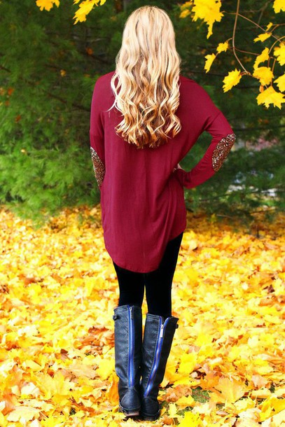 sweater maroon red sweater