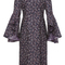 Ruffle sleeve sheath dress   moda operandi