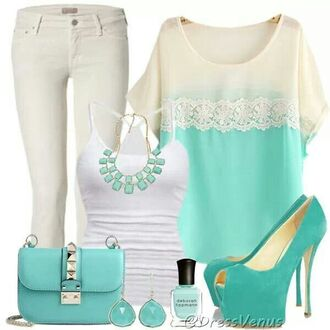 blouse necklace tank top top shirt pants jeans skinny jeans
