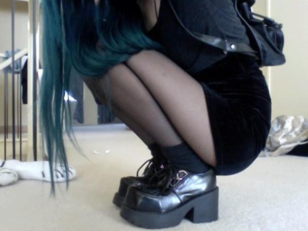 shoes platform shoes platform shoes platform creepers creepers grunge pastel goth goth pastel grunge shorts