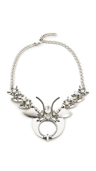 statement necklace statement necklace silver jewels